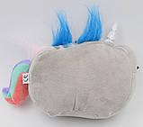 Мягкая игрушка кот-единорог радуга Pusheen cat (n-651), фото 3