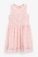 Детское нарядное кружевное платье для девочки Next, фото 1