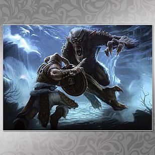 Плакат Skyrim 03