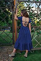 Летнее женское платье длиной миди, фото 3