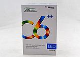 Комплект LED ламп для авто Ближний/Дальний Headlight C6 H11, светодиодные лампы в авто, передний свет, фото 2