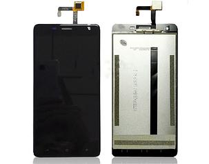 Модуль (дисплей+сенсор) для Oukitel K6000 Pro чорний, фото 2