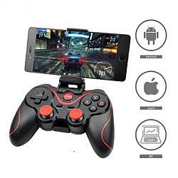 Геймпад X3 (T3) Джойстик bluetooth для Android PC gamepad бездротовий + радіо X3