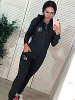 Женский спортивный костюм, турецкий трикотаж, жіночий спорт костюм  S/M/L/XL, фото 1