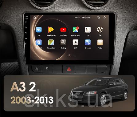 Junsun 4G Android магнітола для Audi A3 2 8P 2003 - 2013 S3 RS3