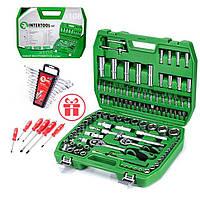Набор инструментов 108 ед.Intertool ET-6108SP + набор ключей 12 ед.HT-1203 +Набор Ударных отверток 6 шт