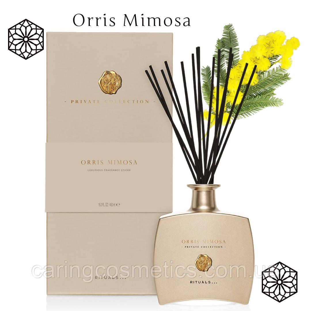 "Rituals.  Аромадиффузор для помещения с палочками. ""Orris Mimosa"". Производство Нидерланды. 450 мл."