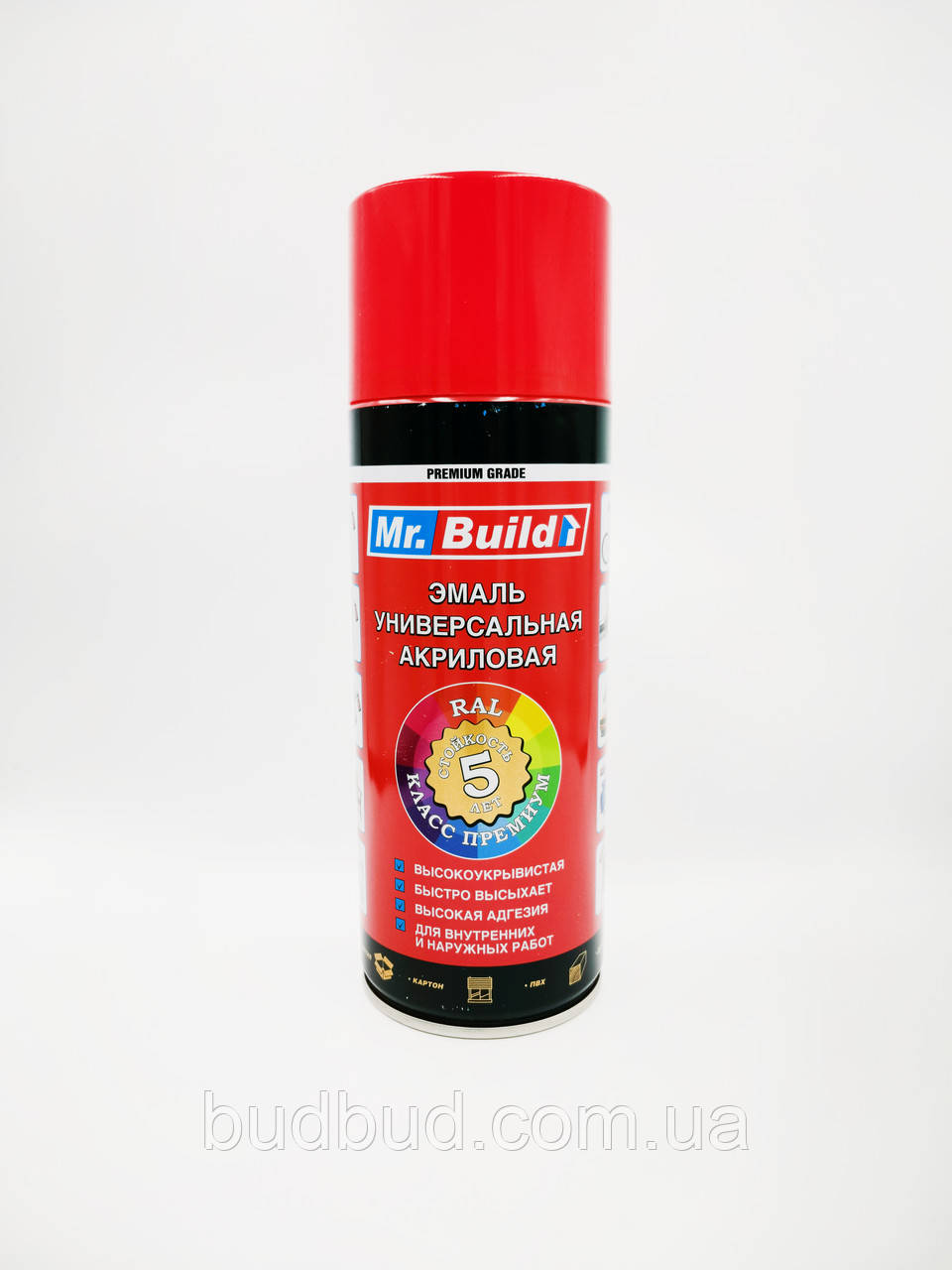 Спрей фарба Ral 3020 Mr.Build №04 червона 400 мл