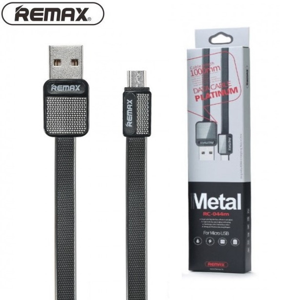 Кабель USB DATA Remax Platinum RC-044m Micro USB (1m) black