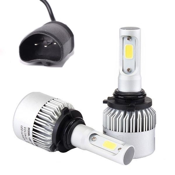 Светодиодная лампа HB5 с охлаждением HighBe 9-32V 36W комплект 2шт