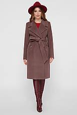 Пальто женское демисезонное стильное размеры 42-54, фото 3