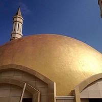 Фасадная краска с эффектом листового золота, сусального золота, металла ECLAT. NOVACOLOR
