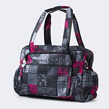 Эргономичная сумка - органайзер на коляску Baby Breeze 0348 дизайн графит