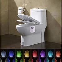Lightbowl Подсветка для унитаза с датчиком движения ночник в туалете