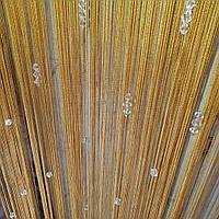 Шторы нити  с комбинироваными алмазными бусинами, фото 1