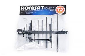 Антена DVB-T2 Кімнатна Romsat Home 3.0