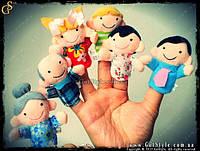 Finger Puppet Family - Куклы на пальцы