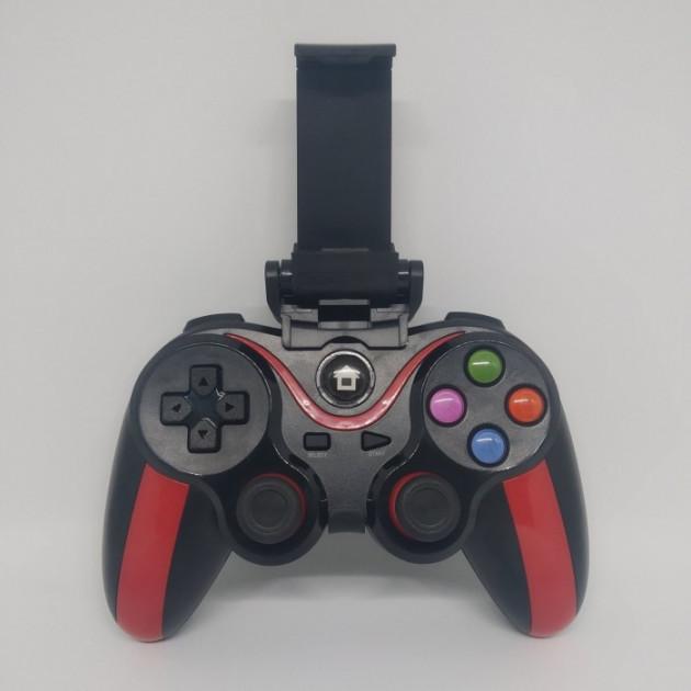 Беспроводной Bluetooth джойстик для ПК ANDROID IOS N1-9013, Черный/Красный