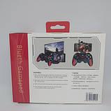 Беспроводной Bluetooth джойстик для ПК ANDROID IOS N1-9013, Черный/Красный, фото 4