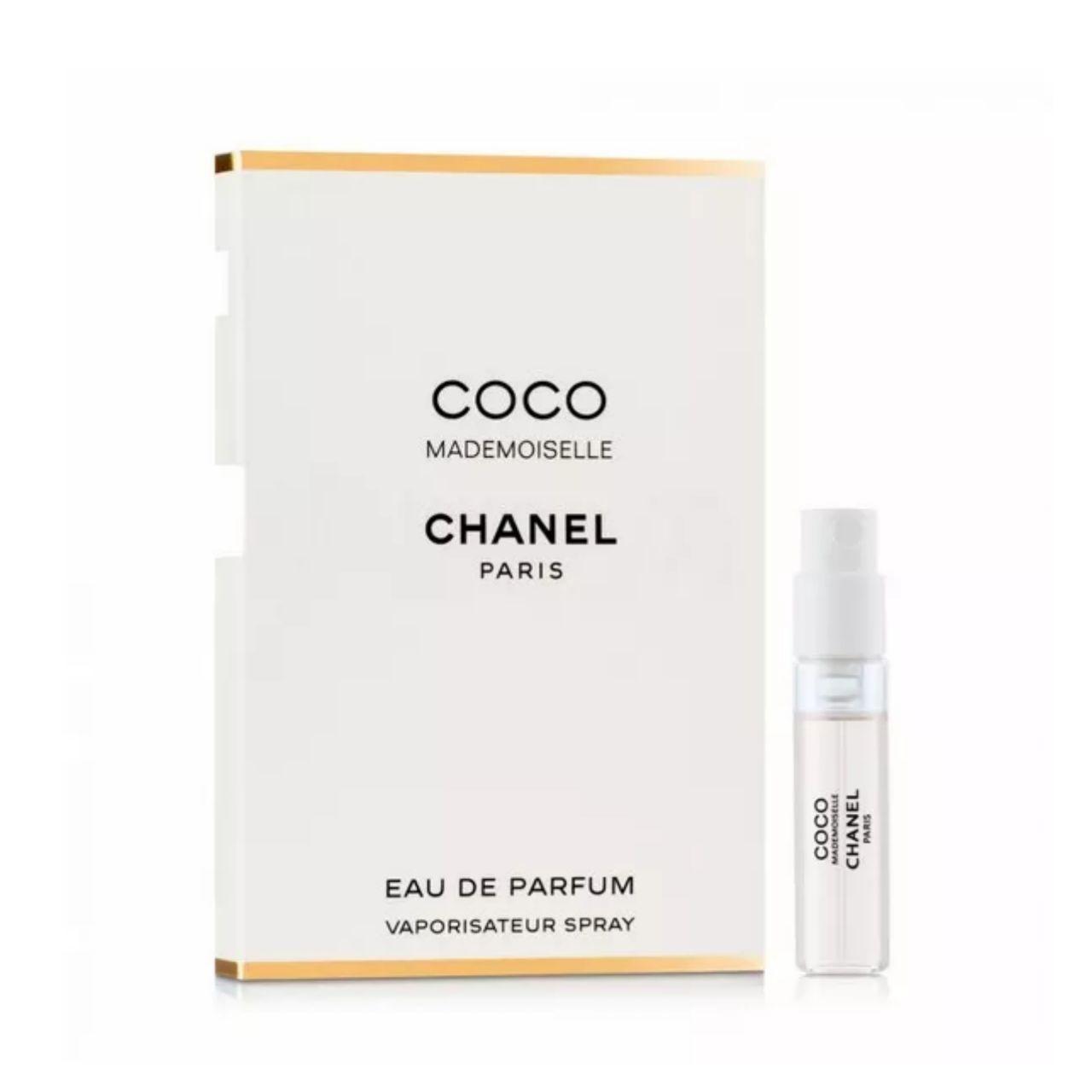ПРОБНИК женские элитные французские духи CHANEL Coco Mademoiselle 1,5ml цветочный стойкий шлейфовый аромат