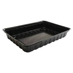 Дно контейнера для суши ПС-61 - чёрное, 20 шт.