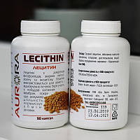 Лецитин соевый натуральный, Aurora, 90 капсул