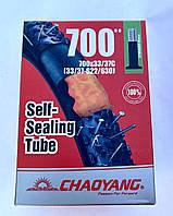Камера с антипрокольным гелем для велосипеда  700 x 33/37c (33/37-622)  (48 мм) ChaoYang