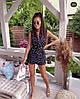 """Летний женский костюм """"BALAGNE"""" с шортами и жилетом (3 цвета), фото 3"""