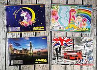 Альбом для рисования на 30 листов на спирали 50211-ТК Tiki Украина