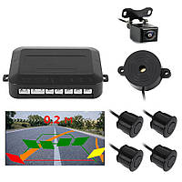 Система парковки HD-M401 динамическая разметка +камера заднего вида, матрица PC4089