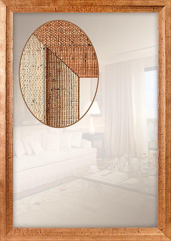 Зеркало интерьерное для ванной, спальни, прихожей