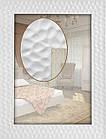 Зеркало в белой багетной раме 90мм, фото 2