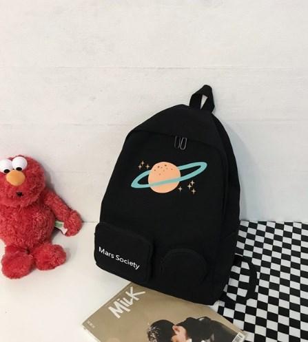 Рюкзак чорний Марс