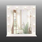 Зеркало для макияжа с подсветкой 700х700 мм, фото 4