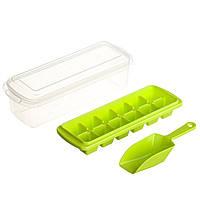 Форма для льда с контейнером и лопаткой STENSON 27 х 10 см (82590)
