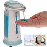 Сенсорная мыльница Soap Magic дозатор для жидкого мыла Диспенсер бесконтактный, фото 2