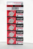Часовая батарейка Maxell CR2016