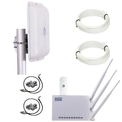 Готовый 4G WiFi интернет комплект HomeWiFi MIMO для сельской местности, фото 2