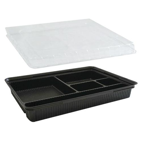 Упаковка для суши дно + крышка (ПС-610+ПС-61) - 20 шт.