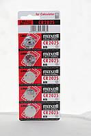 Часовая батарейка Maxell CR2025