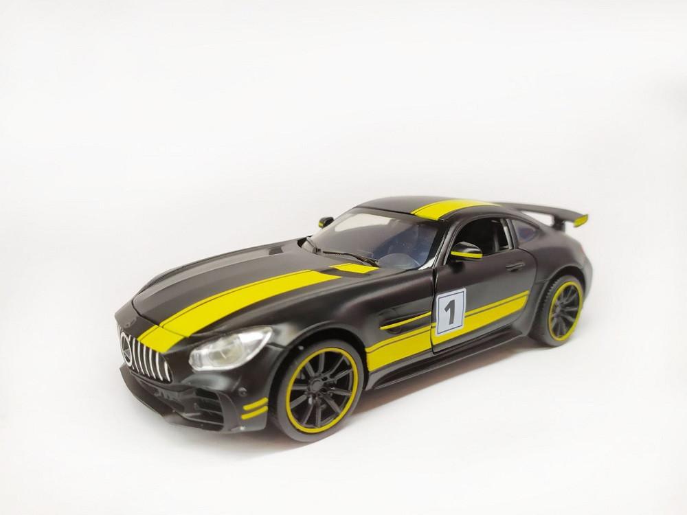 "Машина металева ""Автопром"" Mercedes-AMG GT-R 1:32, 4 кольори,"