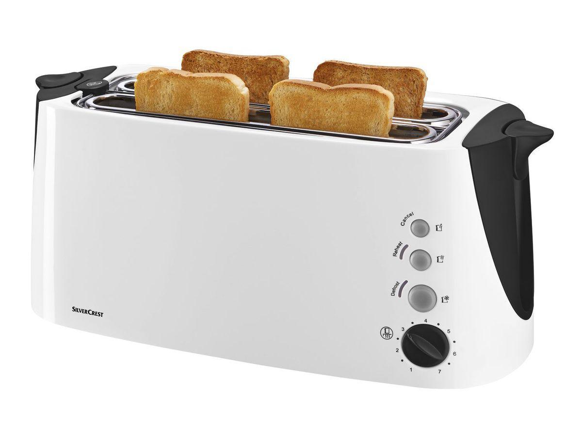 Тостер Silver Crest SDLT 1500 А2 / 4 тоста