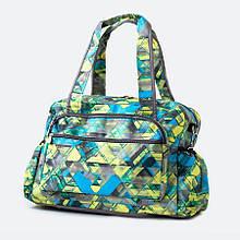 Эргономичная сумка - органайзер на коляску Baby Breeze 0348 дизайн голубой