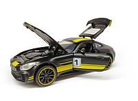 Модель Mercedes-AMG GT R 7846 черная, фото 4