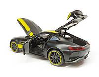 """Машина металева """"Автопром"""" Mercedes-AMG GT-R 1:32, 4 кольори,, фото 5"""