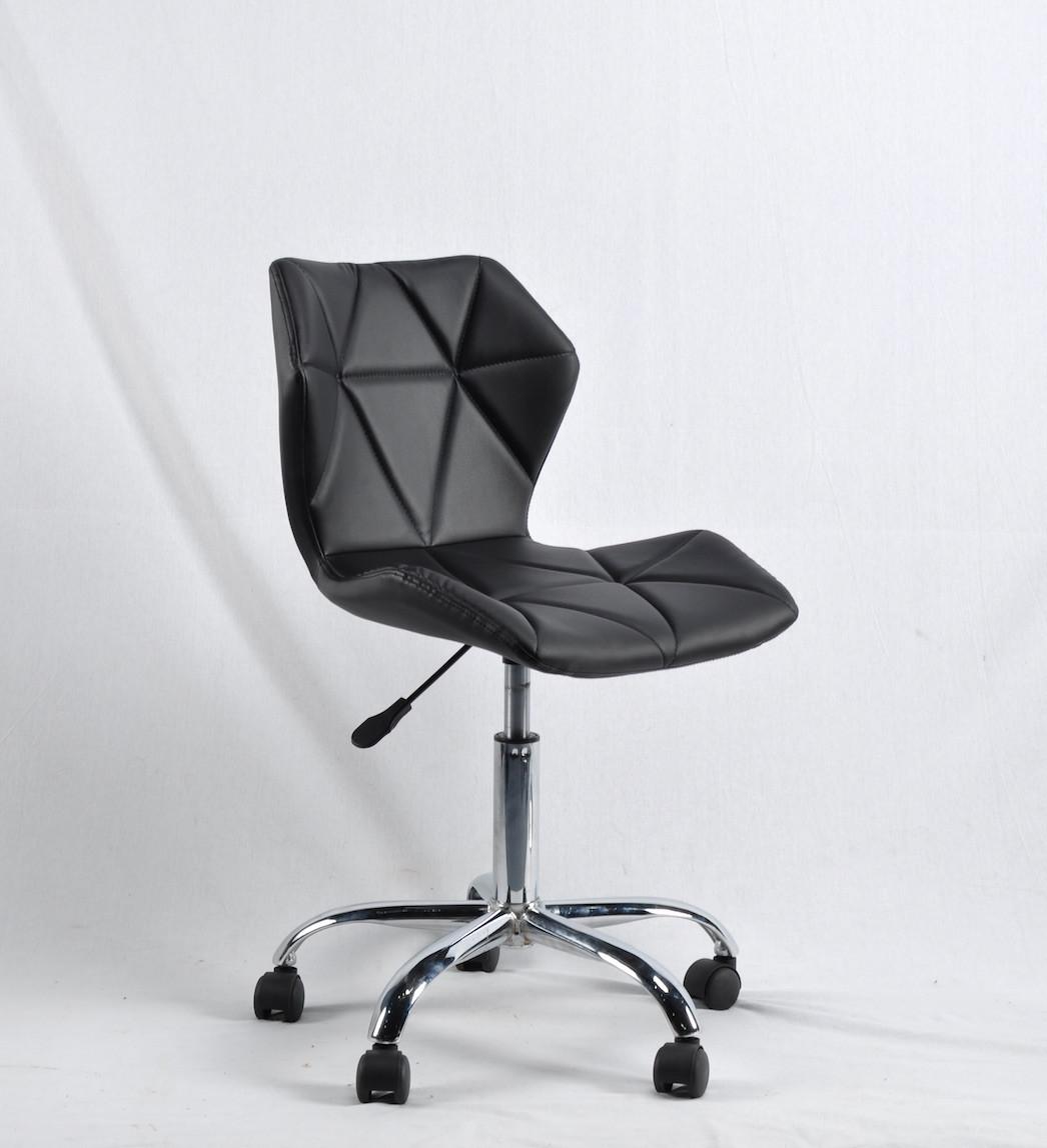 Кресло на колесиках Торино TORINO ЭК CH - OFFICE черная экокожа