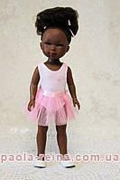 Кукла Vestida de Azul, Brandy ballet, мулатка балерина, 28 см