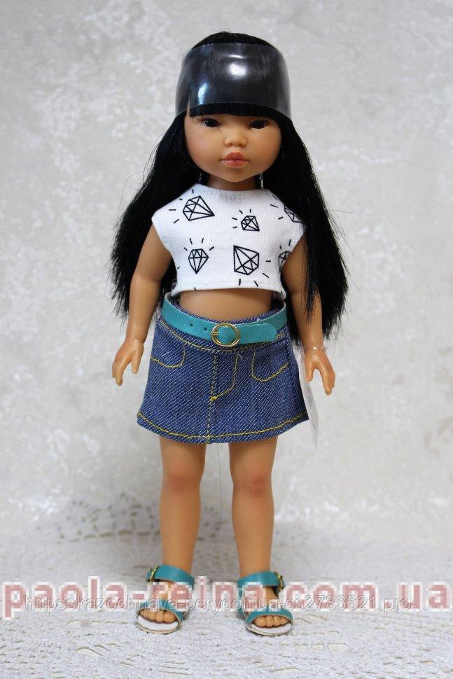 Кукла Vestida de Azul Umi, Umi-7400, рост 28 см, Испания