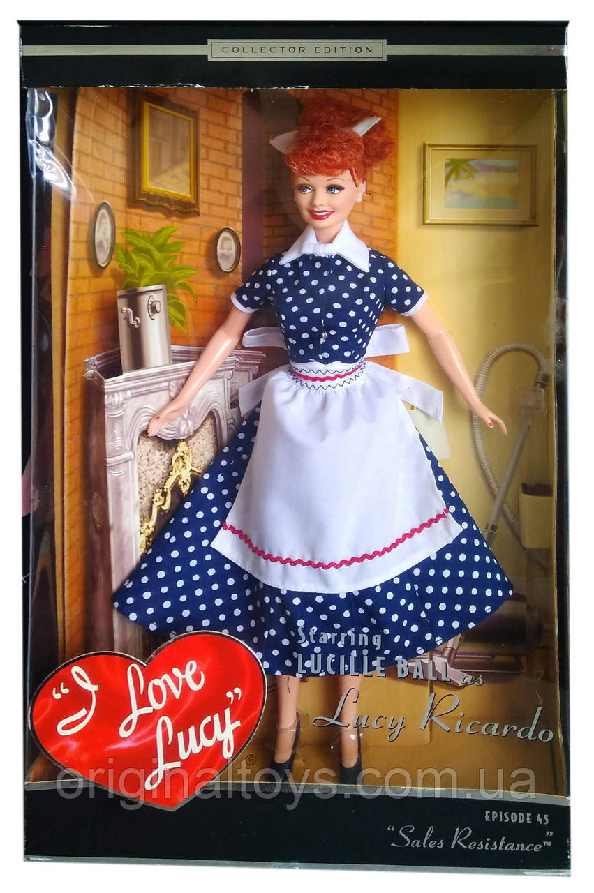 Коллекционная кукла Барби Я Люблю Люси Barbie I Love Lucy Sales Resistance 2004 Mattel B3451