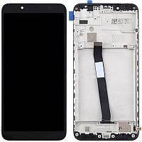 Оригинальный дисплей Xiaomi Redmi 7a с сенсорным экраном, с рамкой, Black